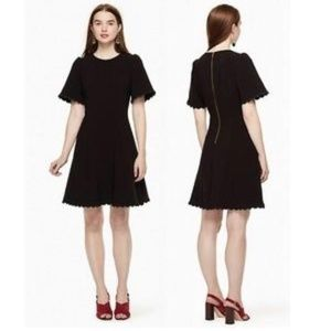 Kate Spade | Scalloped Dress